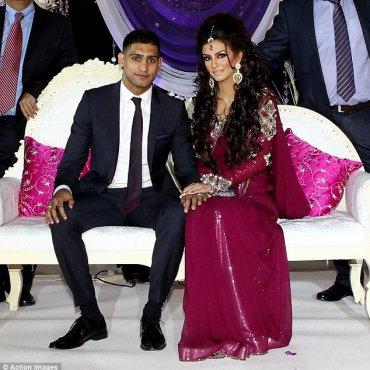 Amir Khan & Faryal Engagement
