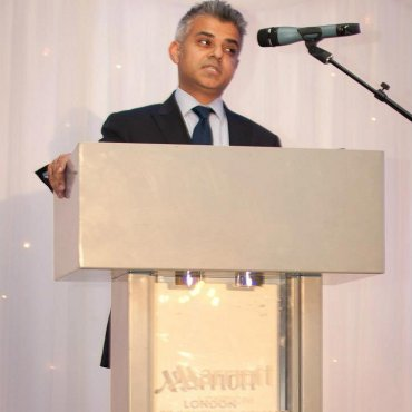 Mayor Sadiq Khan at BCBN Dinner